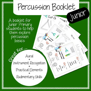 Instrument Percussion Booklet Junior Years
