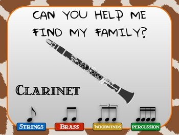 Instrument Petting Zoo Kit for Open Houses and Parent Teacher Conferences