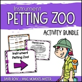 Instrument Petting Zoo Kit for Open Houses and Parent Teac