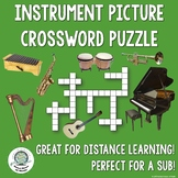 Instrument Picture Crossword Puzzle Distance Learning