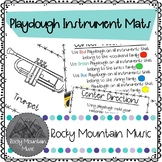 Instrument Playdough Mats