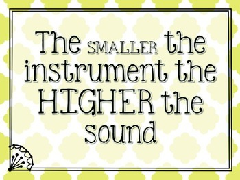 Instrument Practice with High and Low