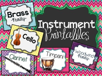 Instrument Printables
