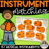 Musical Instrument Matching {151 Pumpkin-Themed Musical In