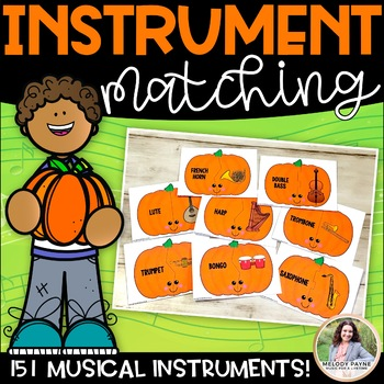 Instrument Puzzles {151 Pumpkin-Themed Musical Instrument
