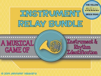 Instrument Relay Bundle: games for rhythm and instrument f
