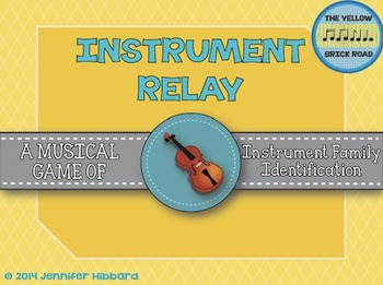 Instrument Relay: a game for instrument family identification