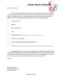 Instrument Repair Letter