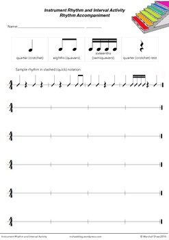 Instrument Rhythm and Interval Activity