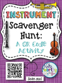 Instrument Scavenger Hunt:  A QR Code Activity for Music Classes