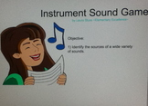Instrument Sound Recognition SMARTBOARD Game