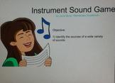 Instrument Sound Recognition SMARTBOARD Game