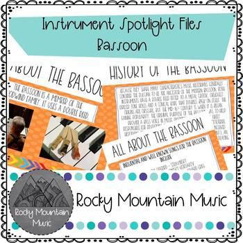 Instrument Spotlight Bassoon