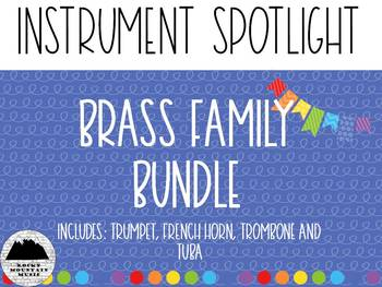 Instrument Spotlight Brass Family Bundle