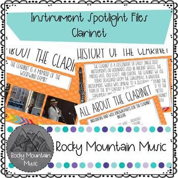Instrument Spotlight Clarinet