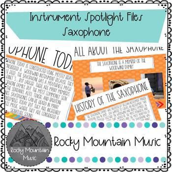 Instrument Spotlight Saxophone