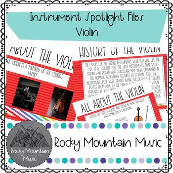Instrument Spotlight Violin