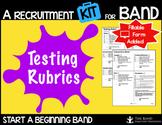 Instrument Testing Rubric