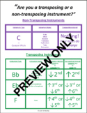 Instrument Transposition Poster