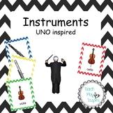 Music Uno - Instruments