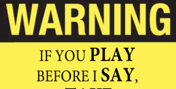 Instrument Warning Sign