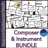 Instrument and  Composer Puzzle BUNDLE