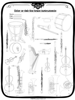 Instrument family activity