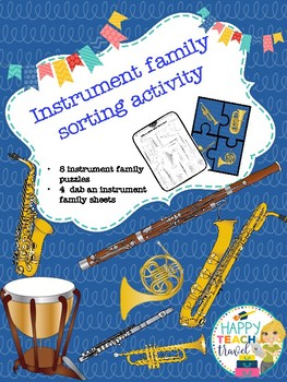 Instrument family activity