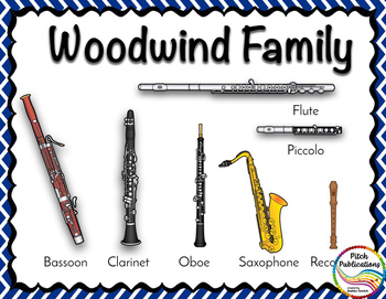 Instrument of the Month: Bassoon - Detailed Lesson Plans and Bulletin Board