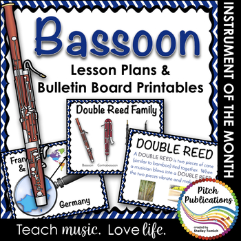 Instrument of the Month: Bassoon - Detailed Lesson Plans a