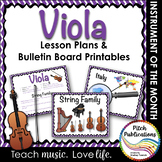 Instrument of the Month: VIOLA - Detailed Lesson Plans and