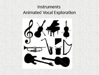 Instrumental Animated Vocal Exploration