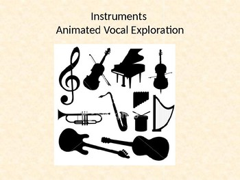 Instrumental Animated Vocal Exploration- Brass