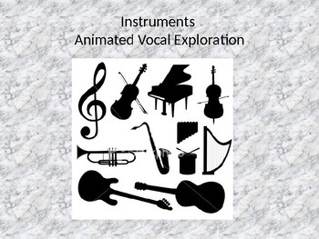 Instrumental Animated Vocal Exploration- Percussion