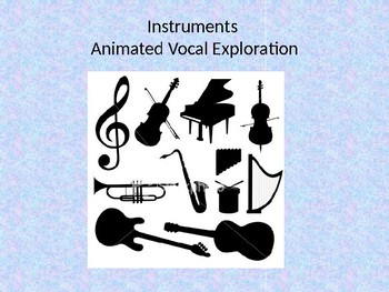 Instrumental Animated Vocal Exploration- Woodwind