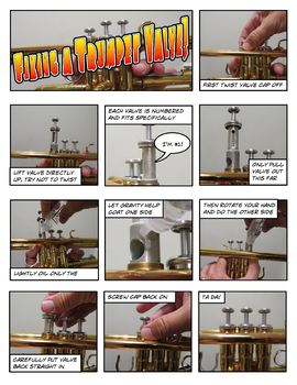 Instrumental Assembly Comic Strip Bundle