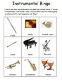 Instrumental Bingo