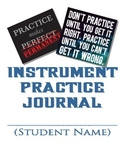 Instrumental Practice Journal