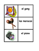 Instrumentos musicales (Musical Instruments in Spanish) Concentration games