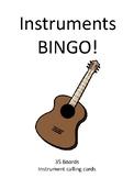 Instruments BINGO!