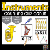 Instruments Count and Clip Number Cards