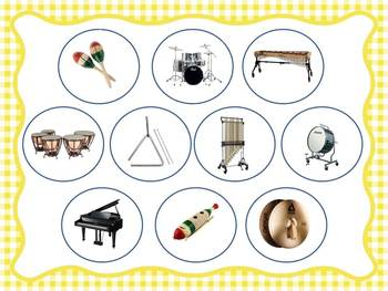 Instruments Of The Orchestra Activity BUNDLE Kit