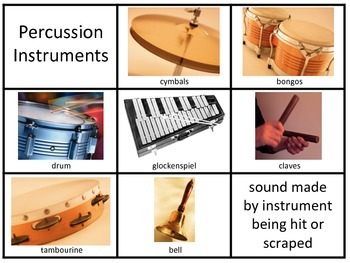 Instruments Sort and Poster Set