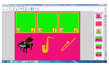 Instruments - attendance page