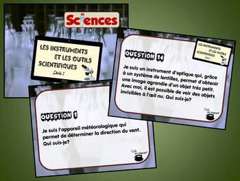 Instruments et outils scientifiques, série 1 (Cartes à tâches) (Sciences)