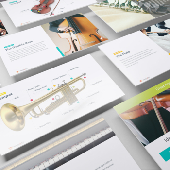 Instruments of the Orchestra : Interactive Presentation w/ Audio File