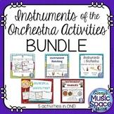 Instruments of the Orchestra Activities BUNDLE #musiccrewinstruments