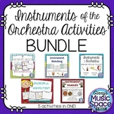 Instruments of the Orchestra Activities BUNDLE