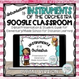 Instruments of the Orchestra BUNDLE, Elementary/Middle School, Distance Learning