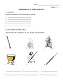 Instruments of the Orchestra Exam